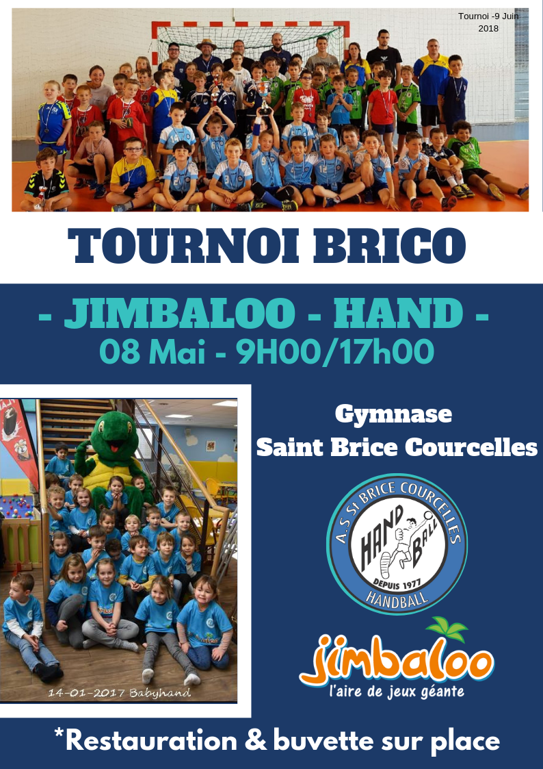 Tournoi Brico – Jimbaloo – Handball